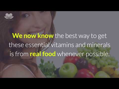 Why Are Vitamins And Minerals Essential