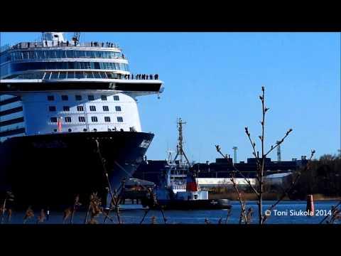 TUIcruises Mein Schiff 3 Sea Trial 22.4.2014 STX Turku