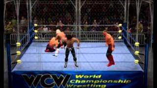 SVR11 Road Warriors vs Rock n Roll Express in custom late 80