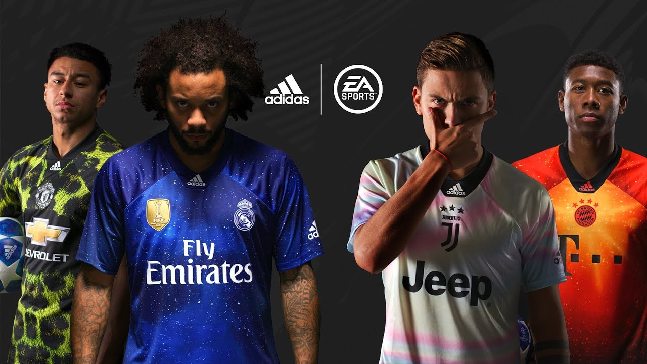 size 40 387b5 e8d95 FIFA 19 gets exclusive 4th kits for Bayern, Real Madrid ...