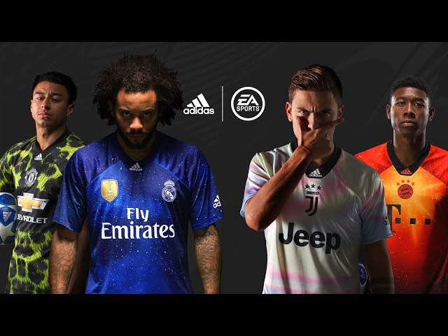 0afaf41e3 FIFA 19 gets exclusive 4th kits for Bayern