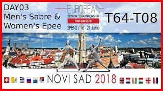 European Championships 2018 Novi Sad Day03 - Piste 5