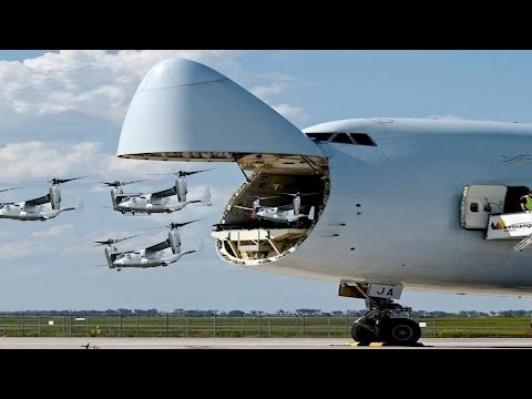 Revealed: The Largest Military Transport Aircraft In the Wor