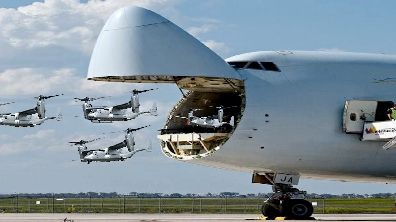 Revealed The Largest Military Transport Aircraft In The World - Largest military in the world