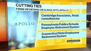 Black's Epstein Ties Hit Apollo Fundraising
