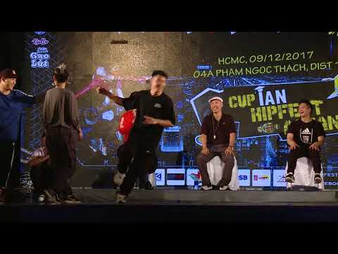 Huy Tít – La Difference | Top 8 Final Cup iAn Hipfest Asean 09/12/2017