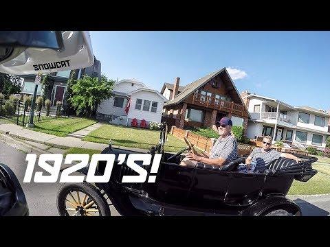 YOU DIDN'T SIGNAL! (100 year old car)
