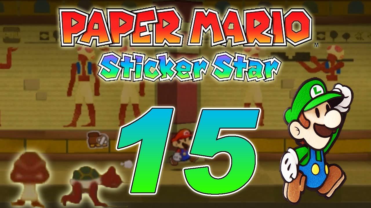 let s play paper mario sticker star part 15 world 2 5 nimmerfeuchte