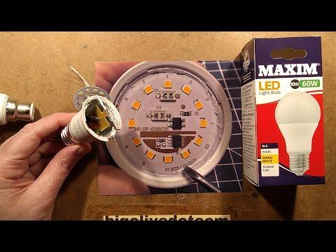 Dollar Tree VS Poundland LED Lamp And Hack.