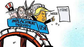 7 scathingly funny cartoons about Trump's looming impeachment
