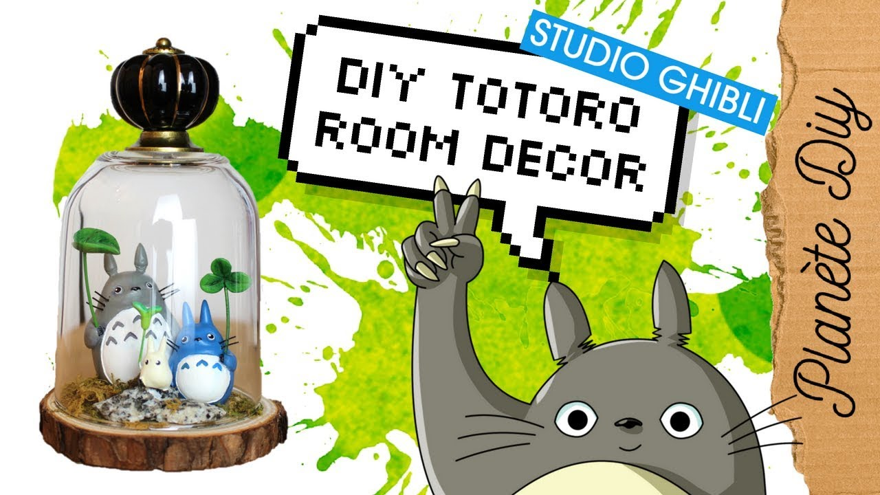DIY Ghibli   Totoro Terrarium | Home Decor Français