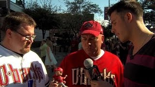 patrick corbin chats with fans about his bobblehead
