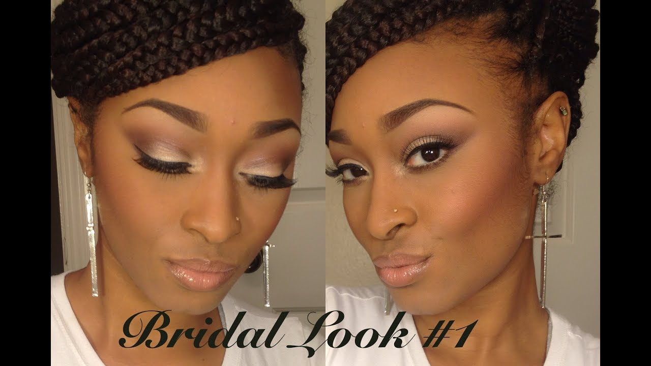 Bridal Makeup Series: Look #1 Neutral with Glowing Skin - YouTube