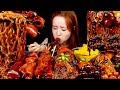 요리먹방 :) 짜장파티♥ 짜장버섯 어묵 떡볶이와 짜파게티 먹방 | MUKBANG.