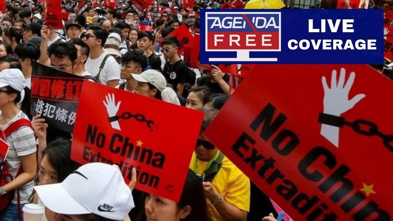Agenda Free TV - Hong Kong Protests - LIVE COVERAGE
