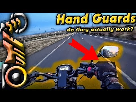Test Ride Cheap Motorcycle Hand Guards