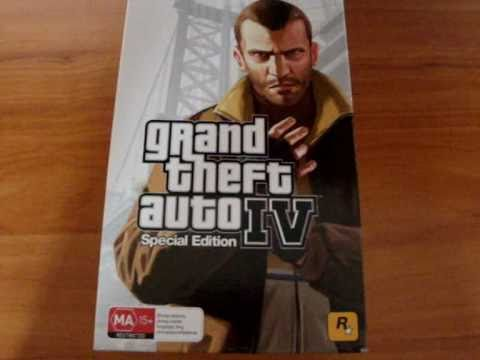 Grand Theft Auto IV: Special Edition Unboxing