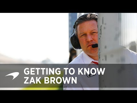 Getting to know Zak Brown | Q&A