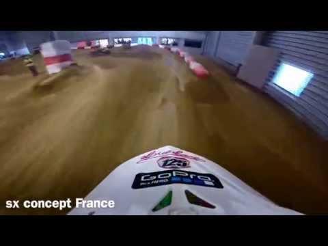Lauren Collingwood sx concept France Kawasaki