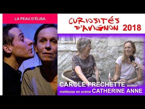 Curiosités d'Avignon - La peau d'Elisa