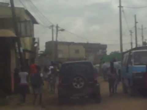 A slum in Luanda (musseques)