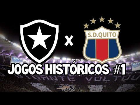 Botafogo x Deportivo Quito (2014) / Melhores momentos - Jogos históricos #1