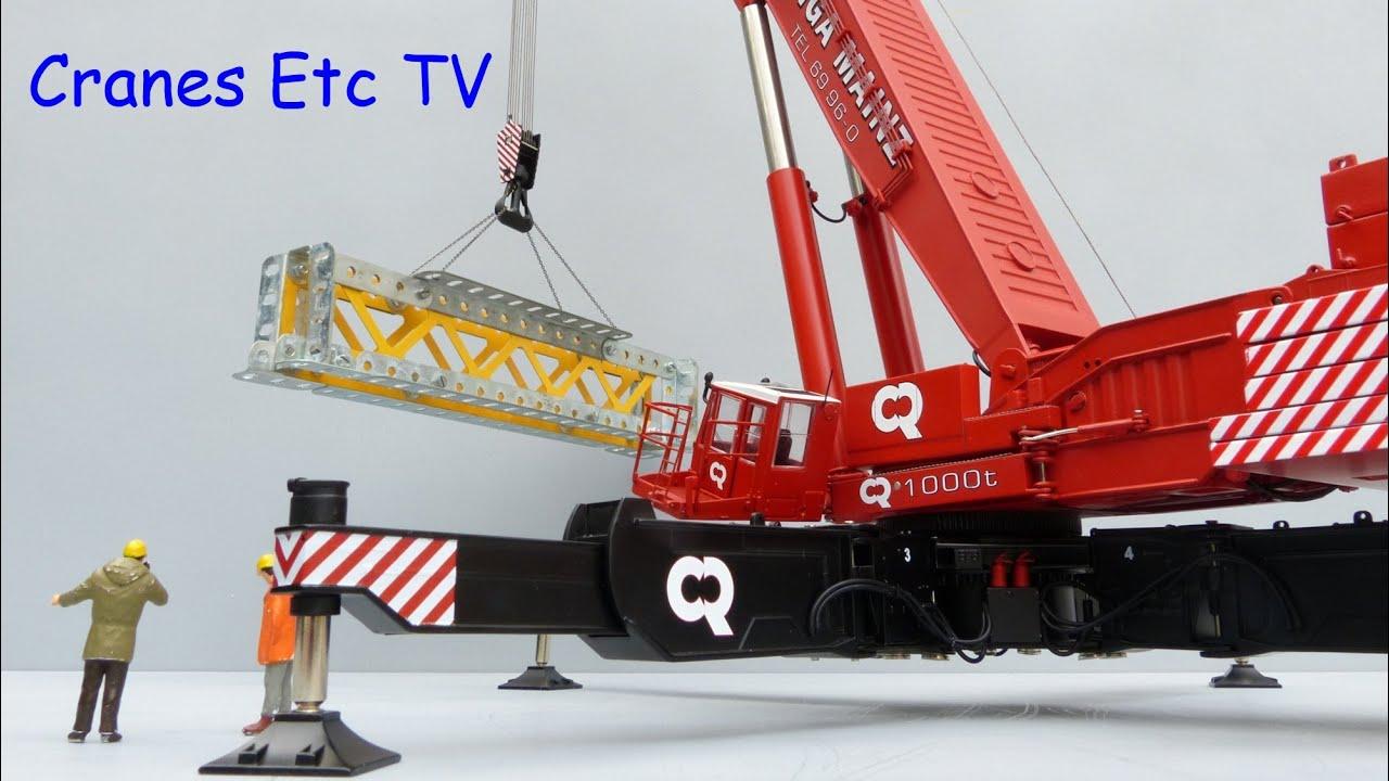 YCC Gottwald AMK 1000 Mobile Crane Part 2 by Cranes Etc TV