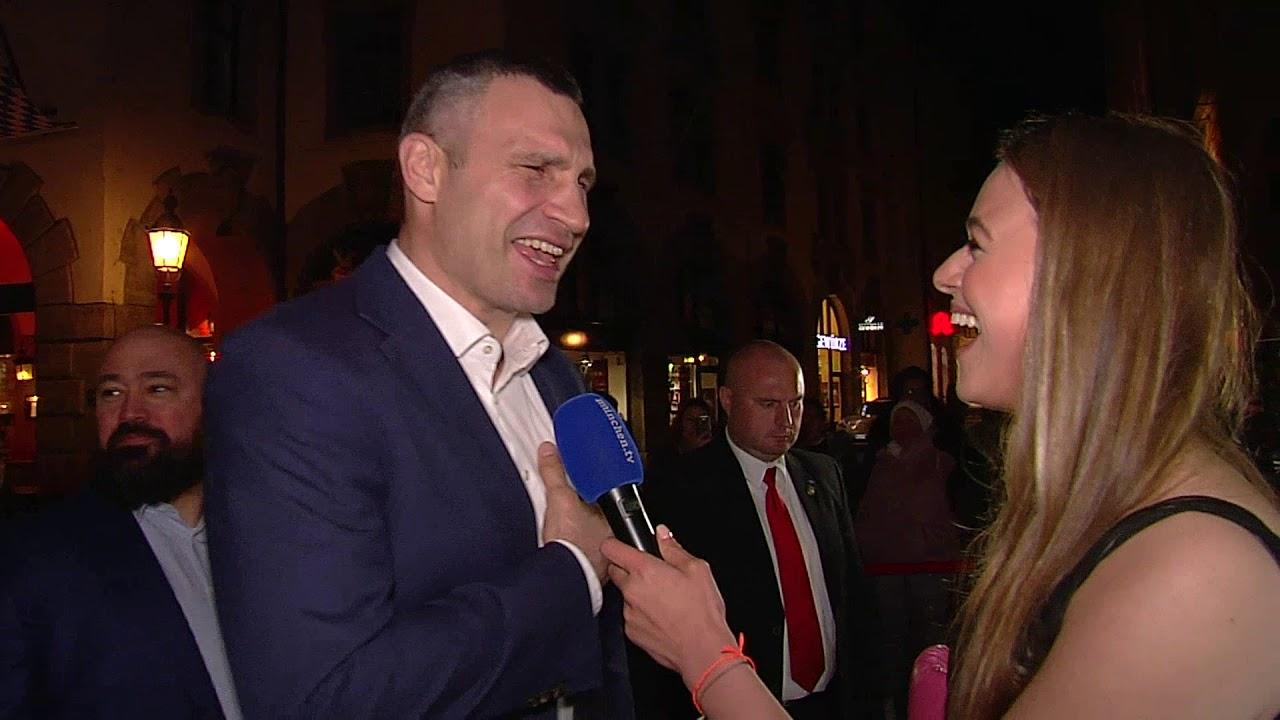 Ex-Boxweltmeister Vitali und Wladimir Klitschko in München zu Besuch
