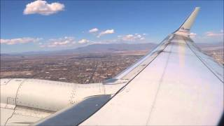 American 737 Las Vegas Turbulent Takeoff HD