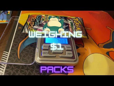 Weighing Pokemon Packs At Dollar Tree, Worth It?