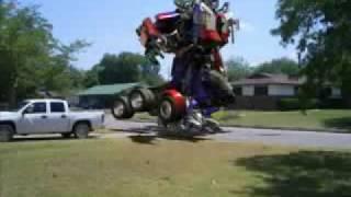 real Optimus Prime