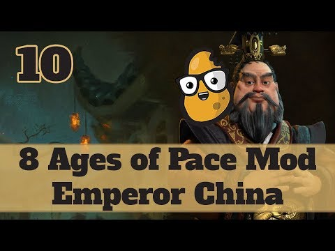 Civ 6 Modded China Ep. 10 - Let's Play Civ 6 Qin Shi Huang in the 8 Ages of Pace mod!