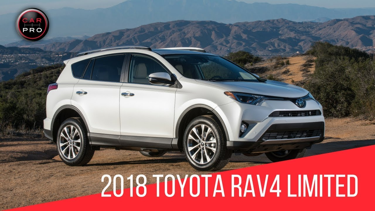 2018 Toyota RAV4 Limited Test Drive - YouTube