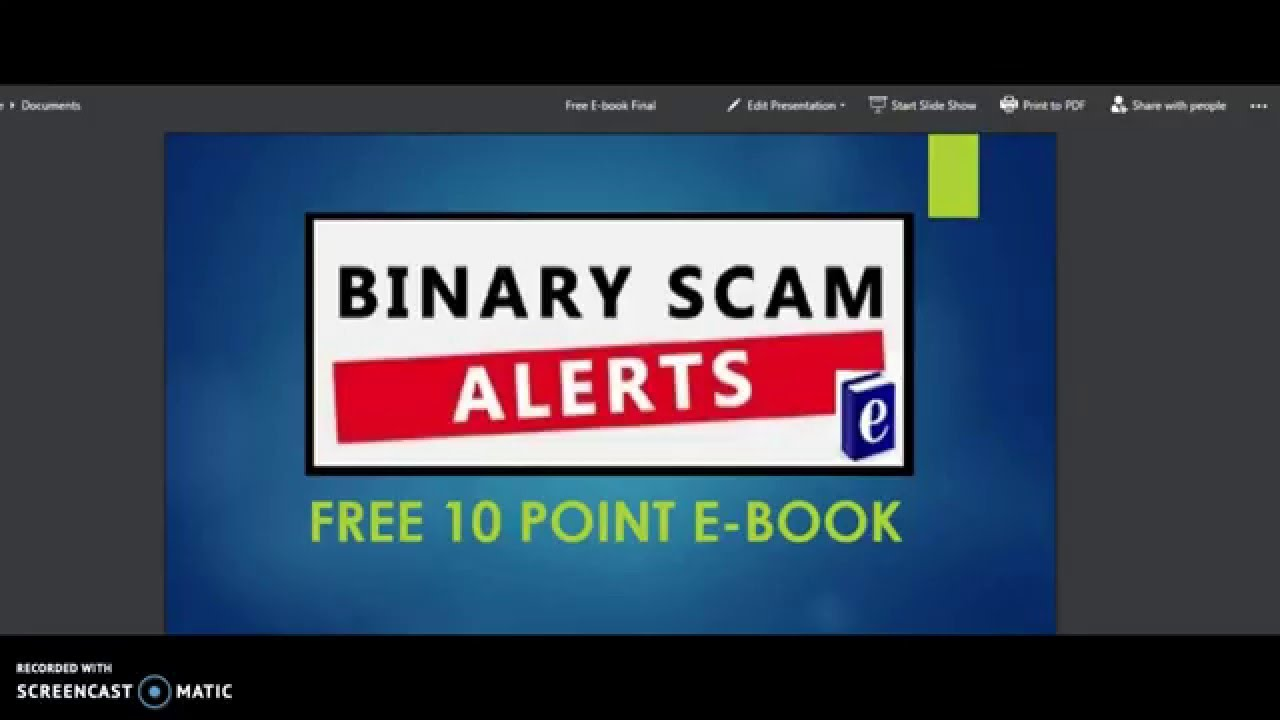 Free binary options alerts