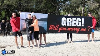 Marriage Proposal JetSki TV Ride