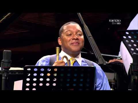 Ali Jackson Second-line Drum Solo (Wynton Marsalis - Jazz in Marciac)