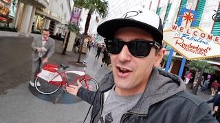 PEE WEE GOT HIS BIKE BACK!! Viva Las Vegas!