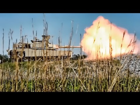 U.S. Army Tank Training At Fort Stewart, GA • M1A2 Abrams