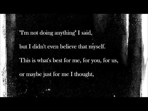 The Approaching Curve by Rise Against (Lyric Video)