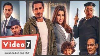 أحمد عيد يحتفل بعرض فيلمه