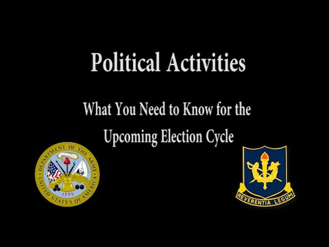 2020 Political Activities Training: What You Need To Know For The Upcoming Election