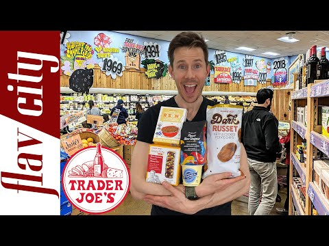 Top 10 HEALTHIEST Things To Buy At Trader Joe's Right Now...With Recipes!