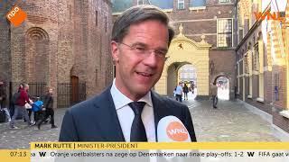 Premier Mark Rutte doet oproep voor Giro 555: 'Geef gul!'