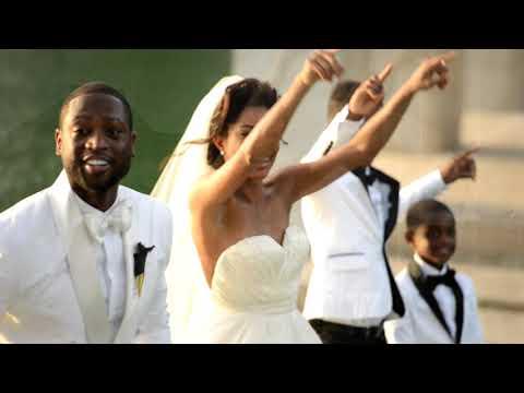 Dwyane Wade & Gabrielle Union's Fairy Tale Castle Wedding