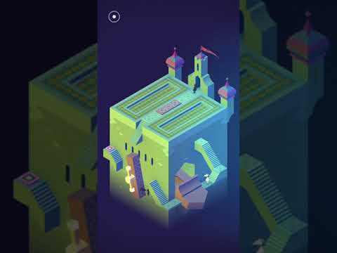 Monument valley game walkthrough level 5 - The Spire