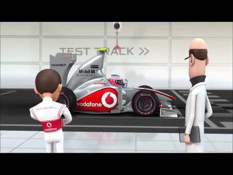 McLaren Tooned - Season 1 - Episode 1 - Wheel Nuts