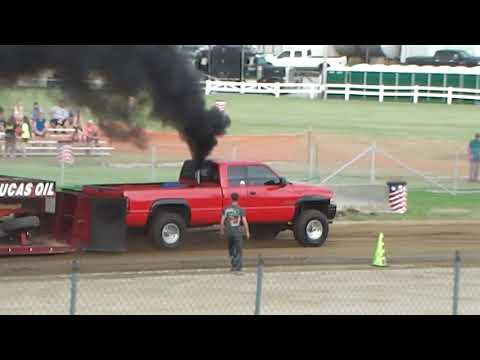 Street Licensed Diesel 4x4 Truck Pull  Big Butler Fair  July 4th 2019