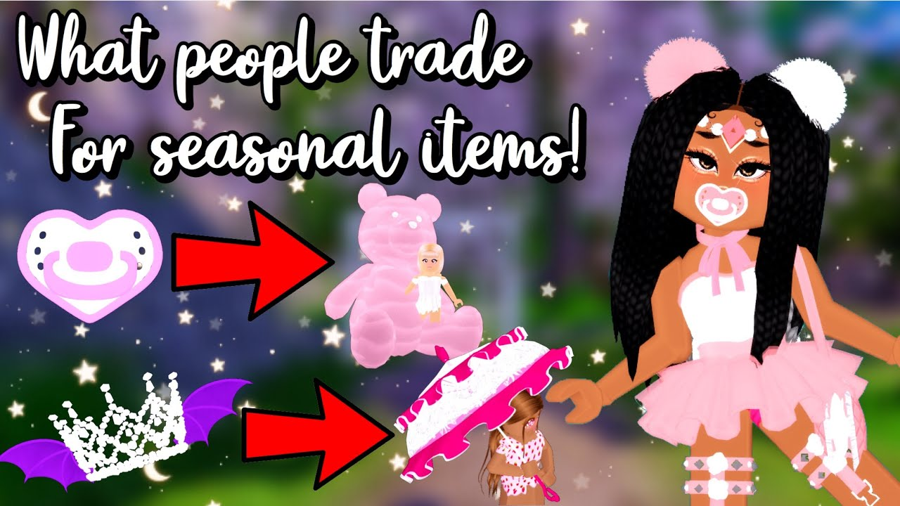 What People Trade for (nearly) *ALL* Seasonal Items! - Items You Didn't Know Were HIGHLY In Demand!!