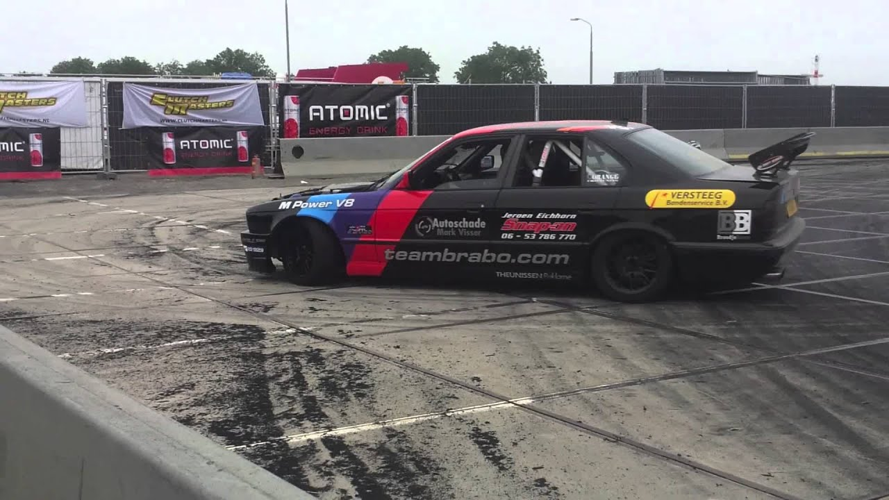 Bmw Drift Team Brabo Makes Smoke Nl Drift Series Tiel