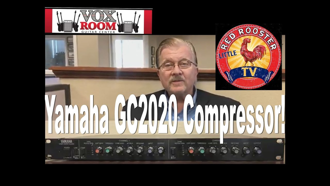 Yamaha GC2020 2 Channel Compressor Limiter